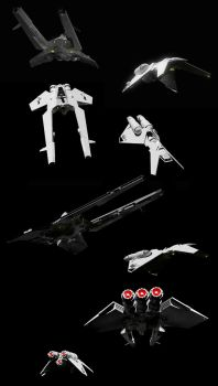 Star Wars - Imperial Customs Ships (Test Renders) by Shadowstate