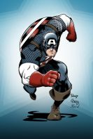 Captain America colors by gz12wk