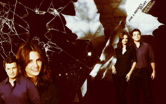 Wallpaper_Castle and Beckett002 by numb22z