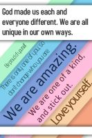 God made us each unique and different. by Angelgirl10