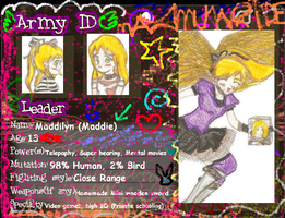 Maddilyn's Army ID by Loplovinglydia