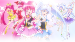 Happiness Charge Precure Wallpaper by SailorTrekkie92