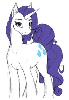 Sketch 1-3 Rarity by Geomancing