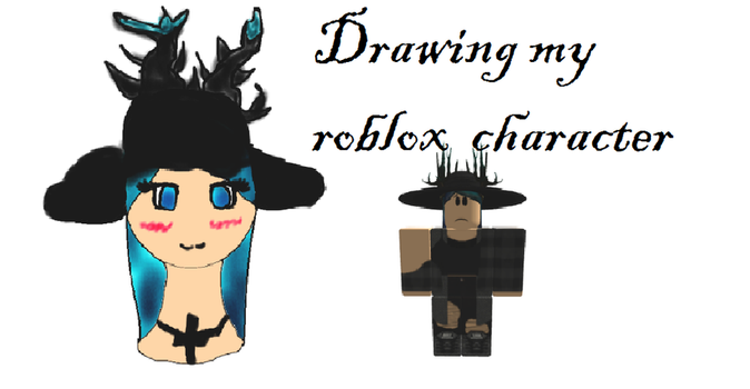 My roblox character.Trying different styles by RosyBonesProductions