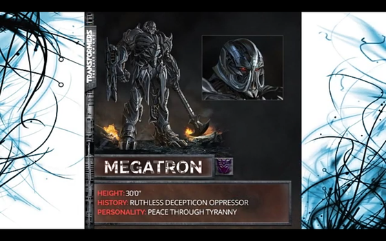TRANSFORMERS the last Knight MEGATRON by Robotponytron
