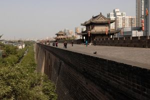 Xian - the old and new 1 by wildplaces