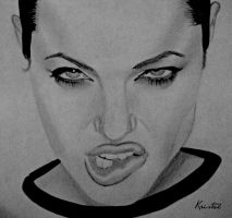Angelina Jolie by kgpanelo