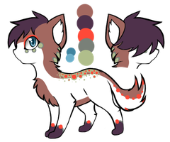 Tribal Cat Design Auction (CLOSED) by AwsumGir101