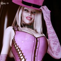 Lady In Pink by KittenHaveClaws