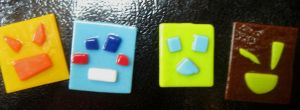 Express-O-Square Magnets by NeedleToTheGroove