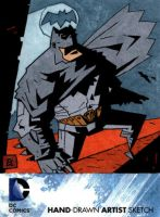 New 52 Batman AP Sketch Card by soliton