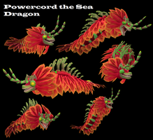 Spore-Powercord the Seadragon by PukingRainbow