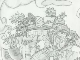 Naruto friends by Sea-of-Ice