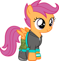 Scootaloo - Equestria Girls Clothing by Zacatron94