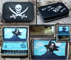 Captain Toothless wallet by elvaniel