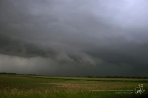 Shelf cloud in Illinois by CaroRichard