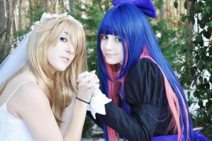 Panty and Stocking by mei-chama