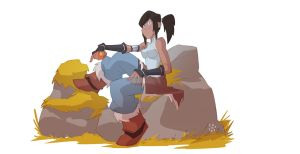 Korra rocks! by cheeks-74
