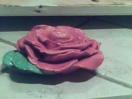 Ceramic Rose by Amberisdacutie83