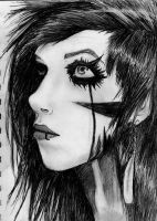Andy Biersack BVB by SophieJ666