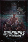 Guardians of the Galaxy   Theatrical Poster by Squiddytron