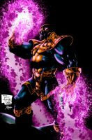 Phillip Tan Thanos colored by RCarter