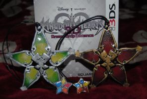 Kingdom Hearts - Ventus's and Vanitas's Wayfinders by ChristalFir3