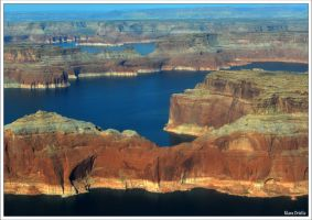 Lake Powell Overview by KlaraDrielle