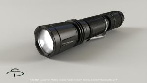 Klarus Flashlight by rocneasta