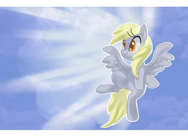 Derping In The Clouds by Kajitanii