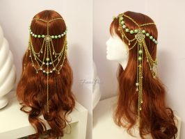 Sage Magical Star Circlet by Lillyxandra