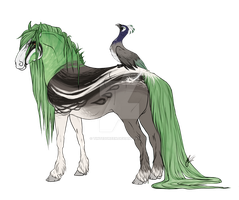 Peafowl Friesian | Imperial Event by TintedGreen