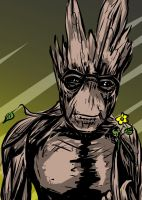 I am Groot by carriehowarth