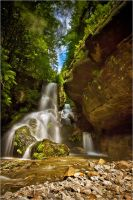 Saxony waterfall II by Torsten-Hufsky