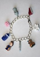 Doctor Who Charm Bracelet by LittleLoveInc