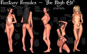 Fantasy Females - The High Elf by Sailmaster-Seion