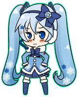 Snow Miku 2 by quietwinter
