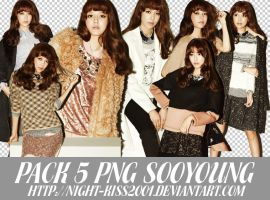 031013 PACK PNG SOOYOUNG IN W KOREA MAGAZINE ~ by Night-kiss2001
