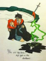 Harry and Ginny 2 by DAHalfblood
