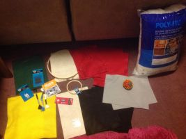 I bought plush doll tool kits from Michael store by Magic-Kristina-KW