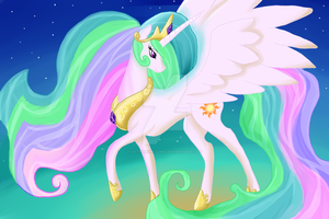 celestia by FatPinkUnicorns