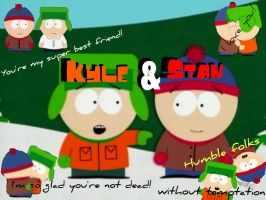 Stan and Kyle-BFFs by danielle-15
