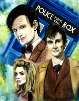 Doctor Who by WhatYouMeanToMe