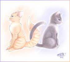NaruSasu Cats X3 by akimaxxx
