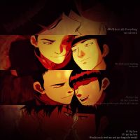 Mai/Zuko (graphic) - On Our Own by sharllot