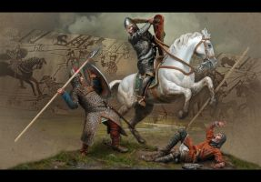 Hasting Battle by Yerahmeel