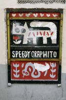 Speedy Graphito by ProjectBlancoyd