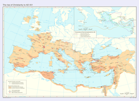 The rise of Christianity to AD 451 by Undevicesimus
