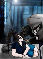 TF Meeting Megatron by Taiya001