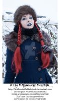 Wintertale Vintage Goth Girl Stock 008 by MADmoiselleMeliStock
